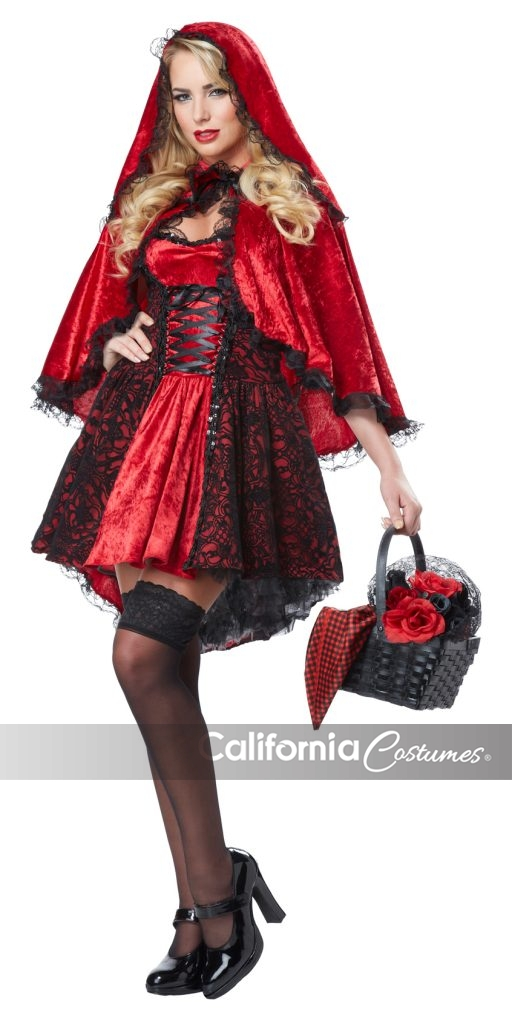 DELUXE RED RIDING HOOD / ADULT  sc 1 st  California Costumes & DELUXE RED RIDING HOOD / ADULT - California Costumes