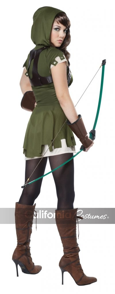 lady robin hood costume plus size