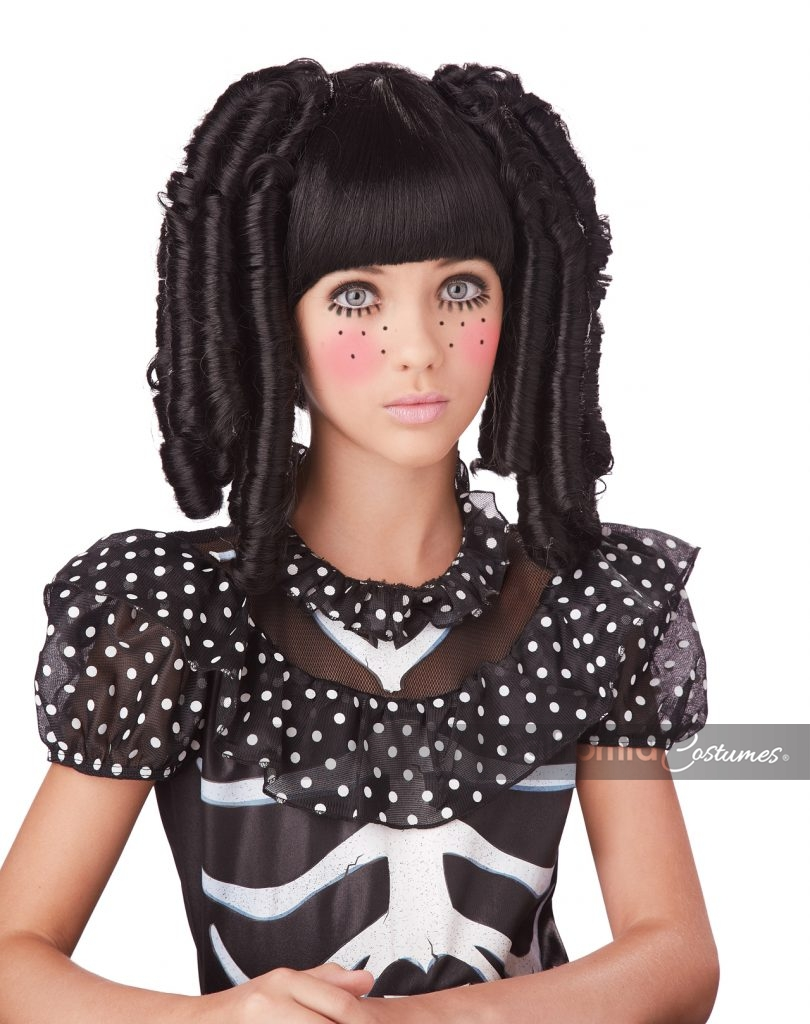 Baby Doll Curls With Bangs Wig California Costumes
